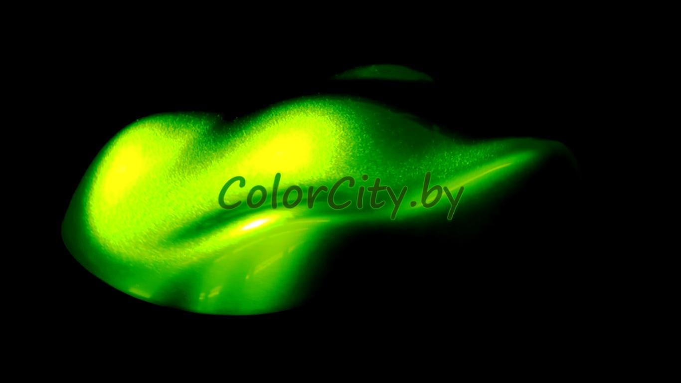 Краска цвета лайм